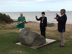 1-seating-stone-chapel-marker-unveiling-cllr-valerie-masson-who-located-the-stone-cllr-geraldine-walker-chairman-cllr-roger-wetherell-vice-chairmanjpg